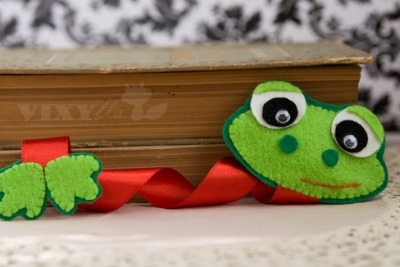 froggy bookmark