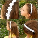 Daisy Headband Tutorial by Krazy Kitzy
