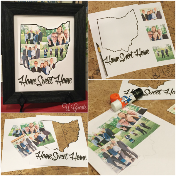 HOME state picture mat tutorial