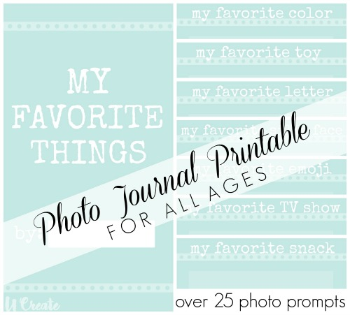 My Favorite Thing printable at u-createcrafts.com