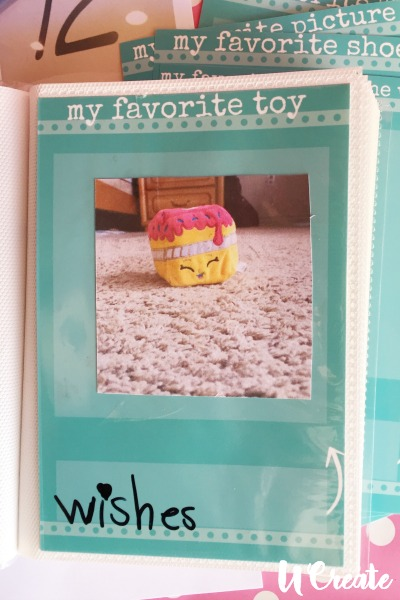 My Favorite Things photo book