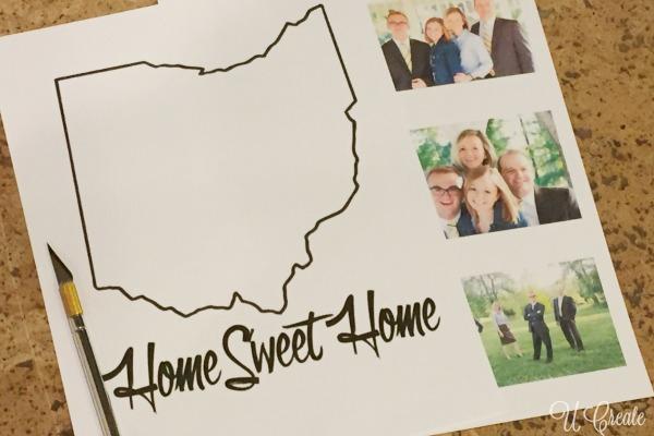 Ohio State Photo Mat