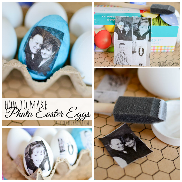 Photo Easter Eggs at u-createcrafts.com