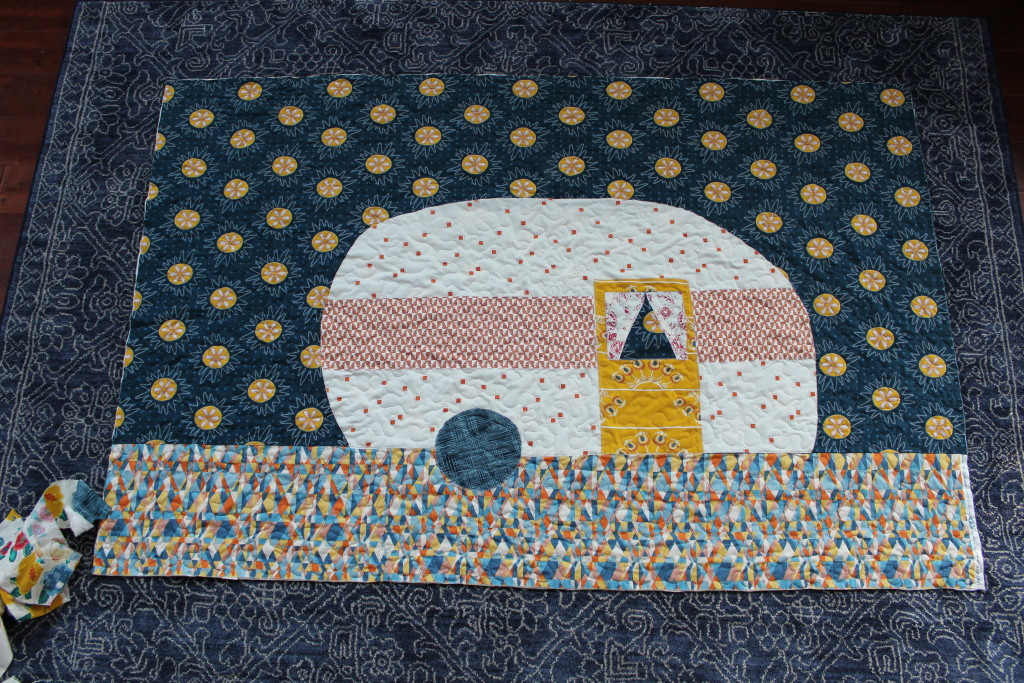 Retro Camper Quilt Tutorial by Sew What Alicia