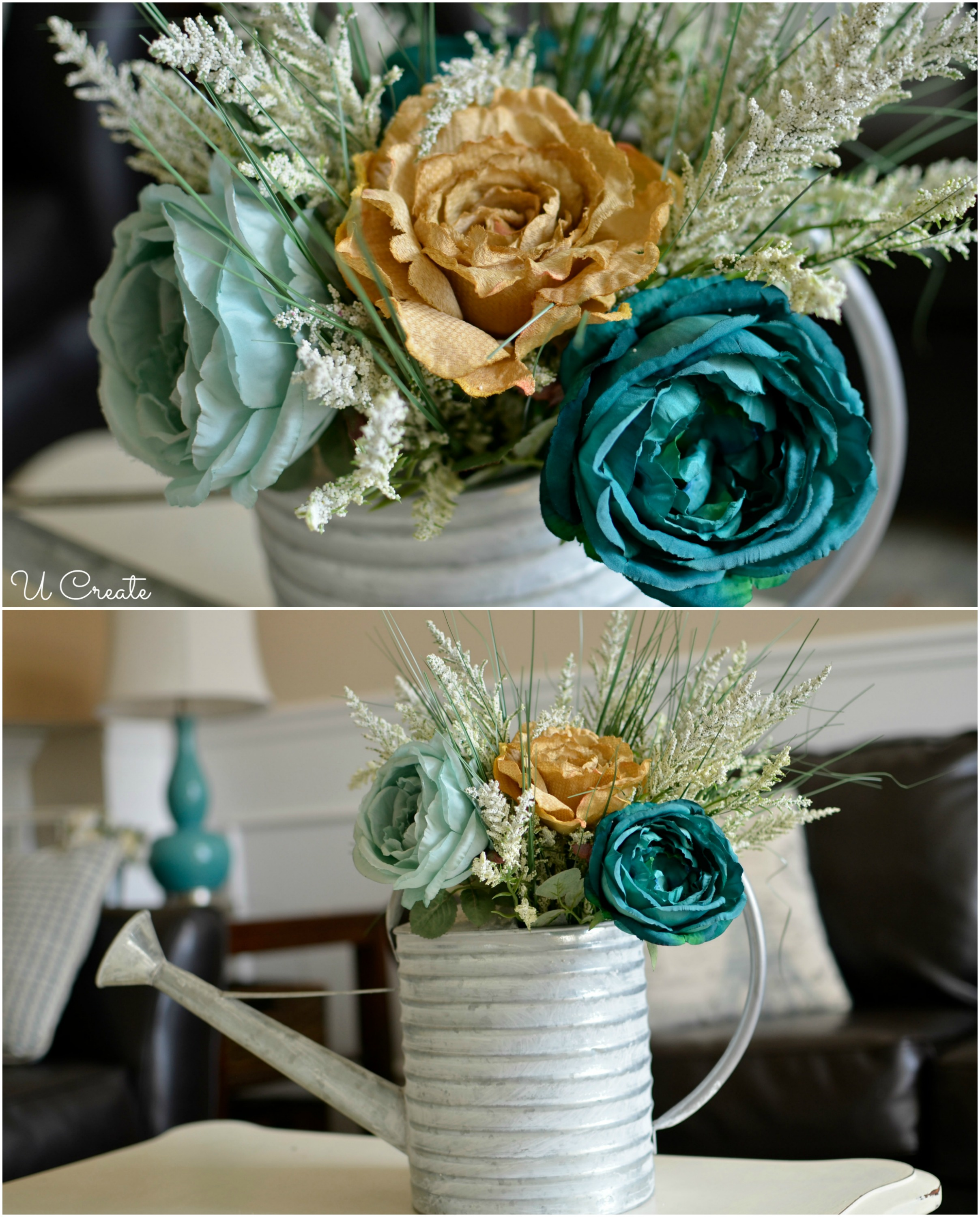 Spring Rose Floral Arrangement by U Create