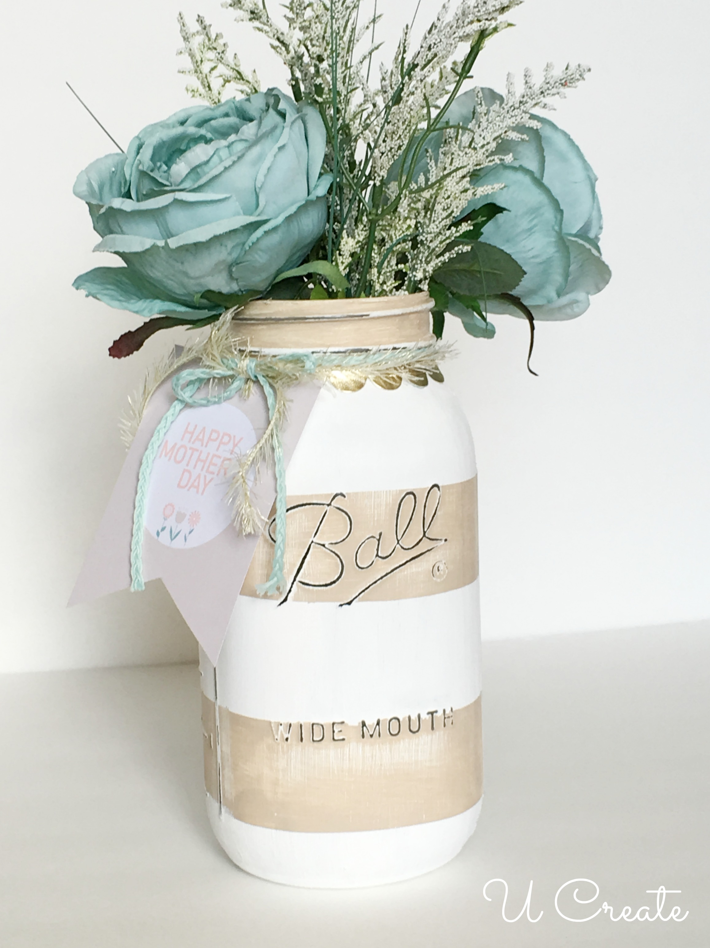 Diy Mother S Day Mason Jars