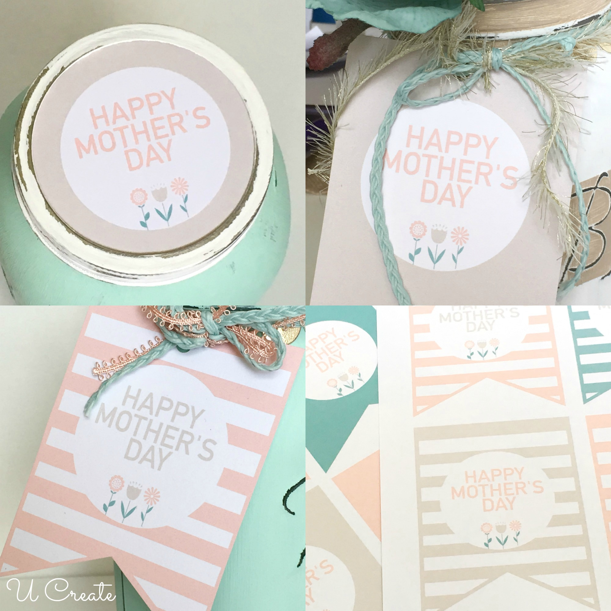 DIY Mother's Day Mason Jars