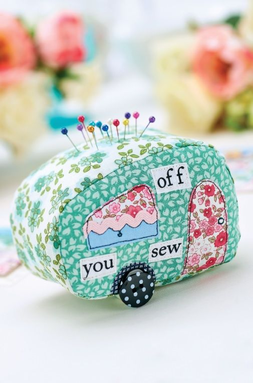 Caravan Pincushion Tutorial