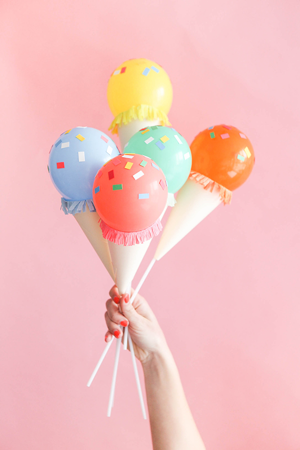 Ice Cream Balloon Tutorial