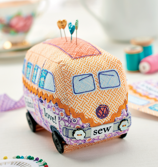 Campervan Pincushion Tutorial