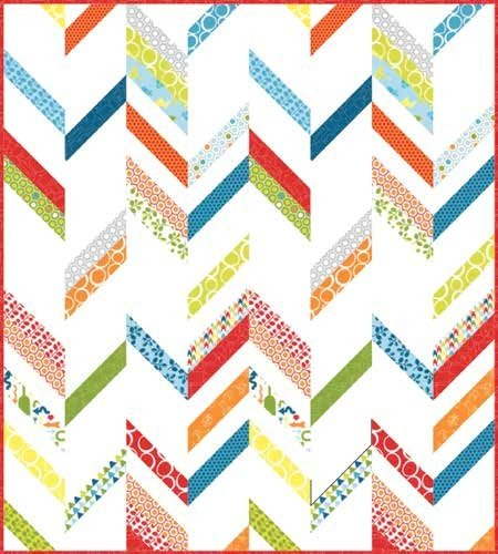 Many Free Jelly Roll Quilt Patterns