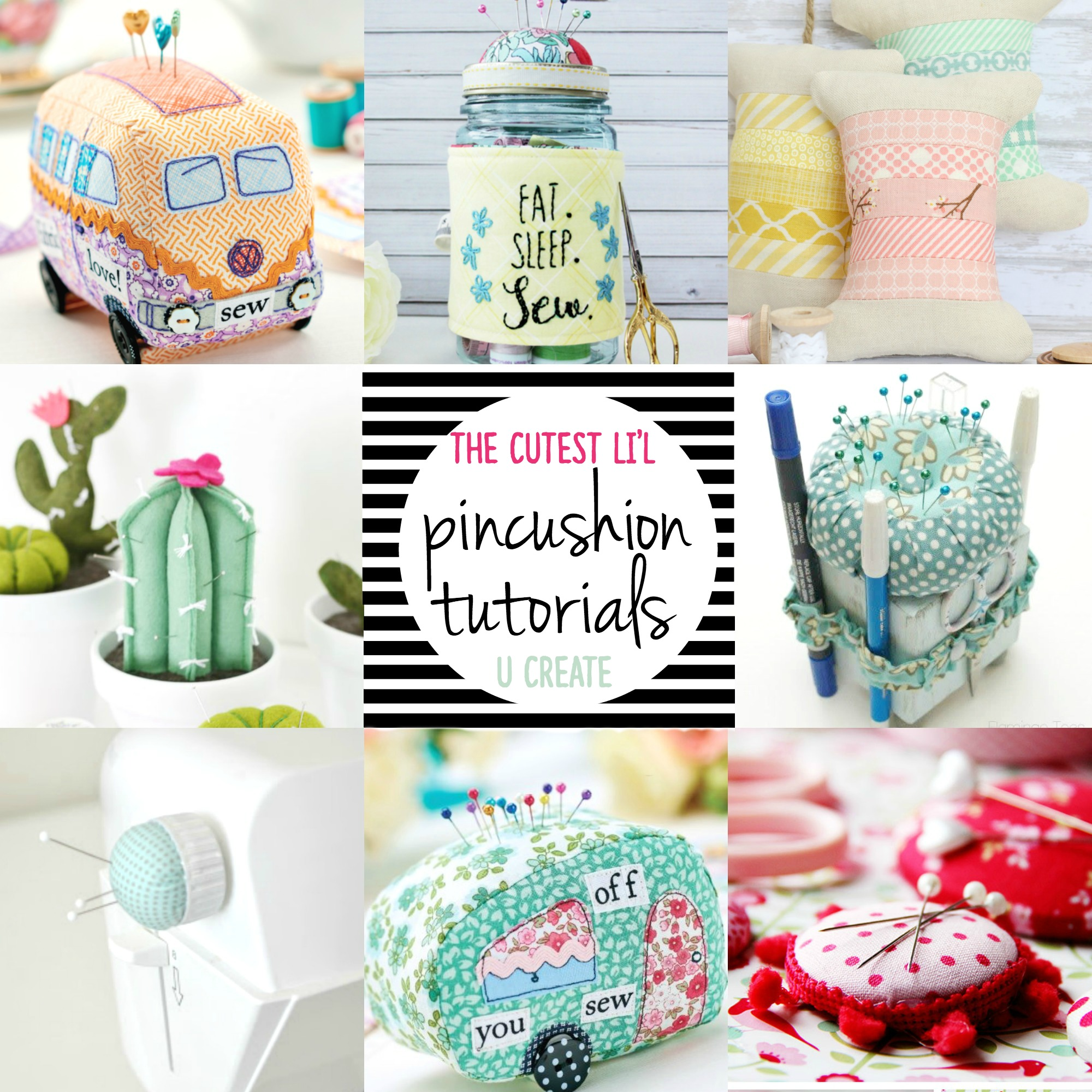Tons of Pincushion Tutorials