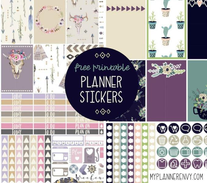 100+ Free Planner Printables