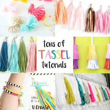 TONS of Tassel Tutorials