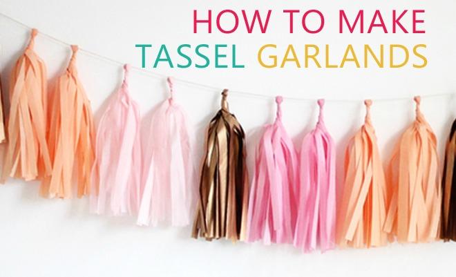How to Make Tassel Garlands