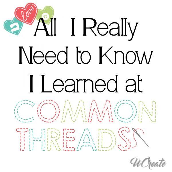 Common Threads 2016 Graphic