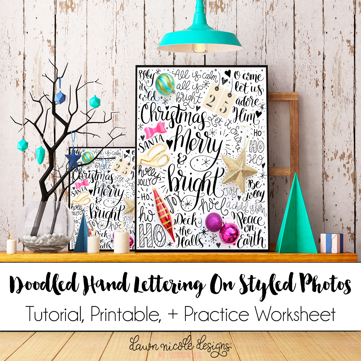 How to do Hand Lettering on Photos