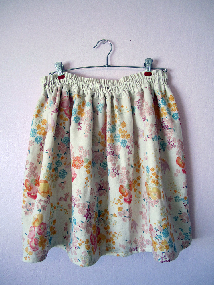 Double Gauze Skirt Tutorial