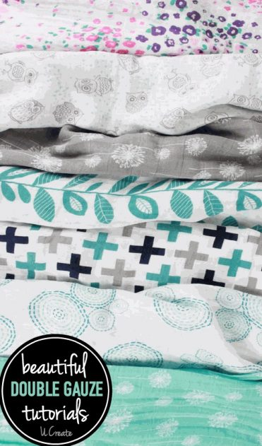 What is double gauze? Why is it so popular in sewing? Lots of beautiful free tutorials!