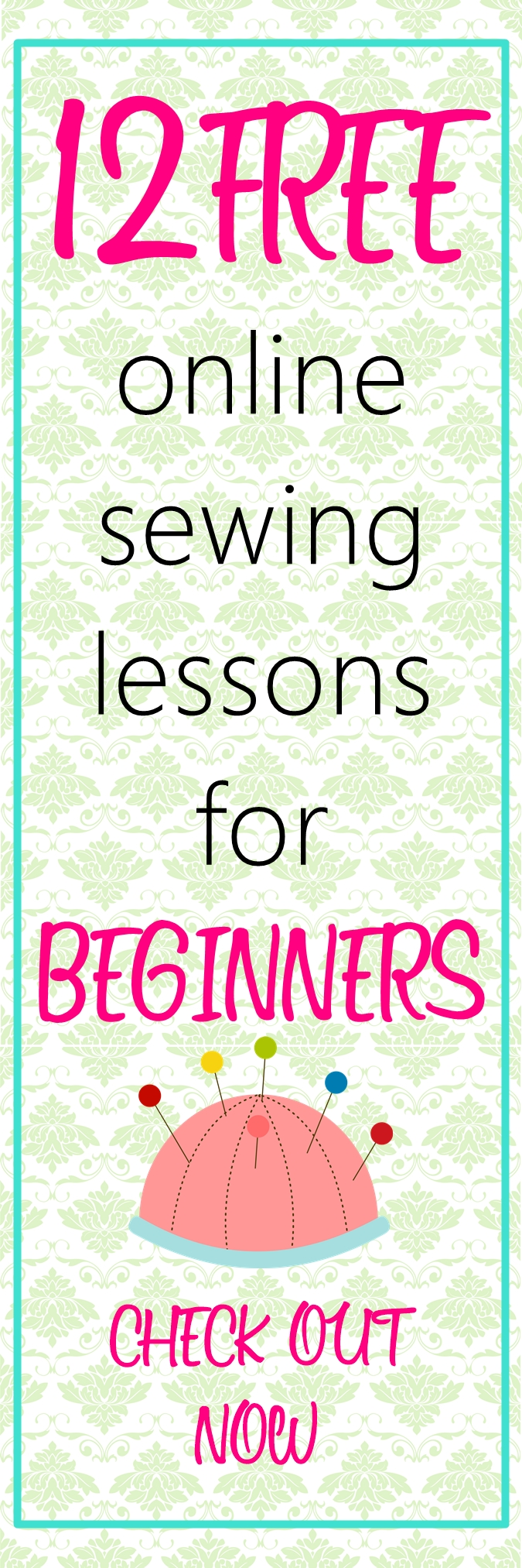 Free Online Sewing Classes for Beginners!