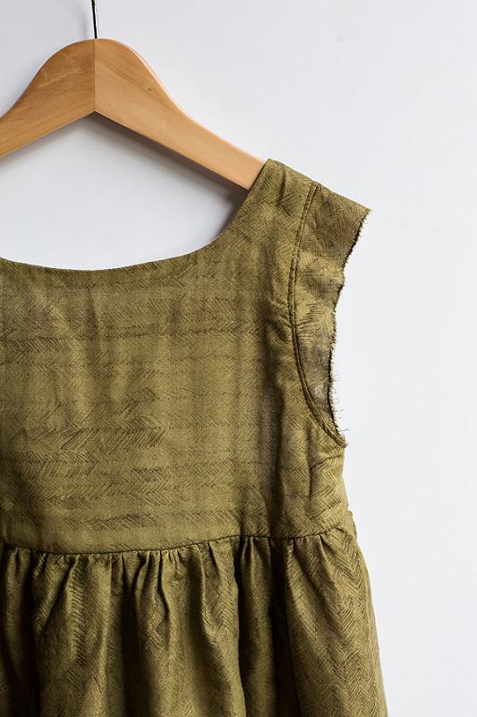 Double Gauze Bohemian Dress Tutorial