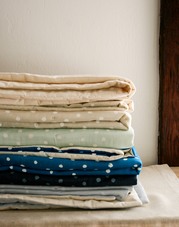 Gauze Duvet Tutorial at Purl Soho