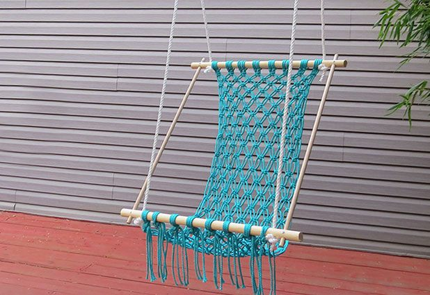 How to Make a Macrame Hammock and other amazing macrame projects!