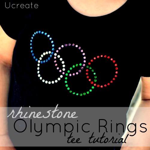 Olympic Rings Tshirt Tutorial