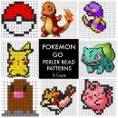 Free Pokemon Go Perler Bead Patterns