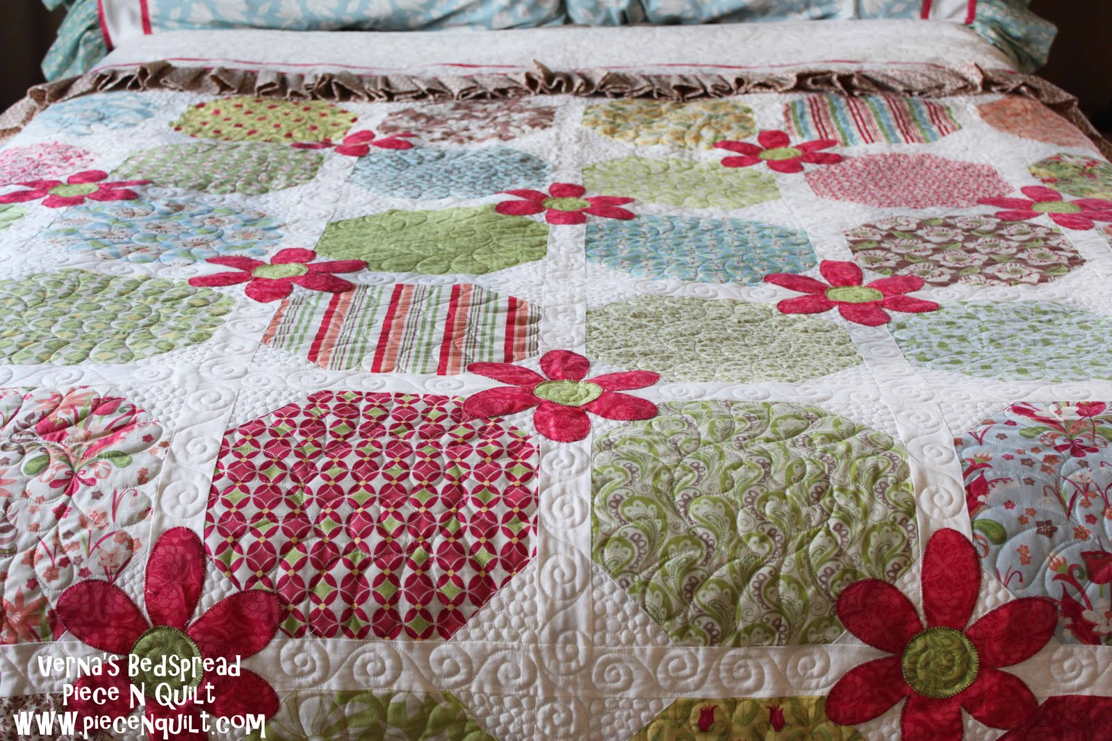 Verna's Layer Cake Quilt Tutorial