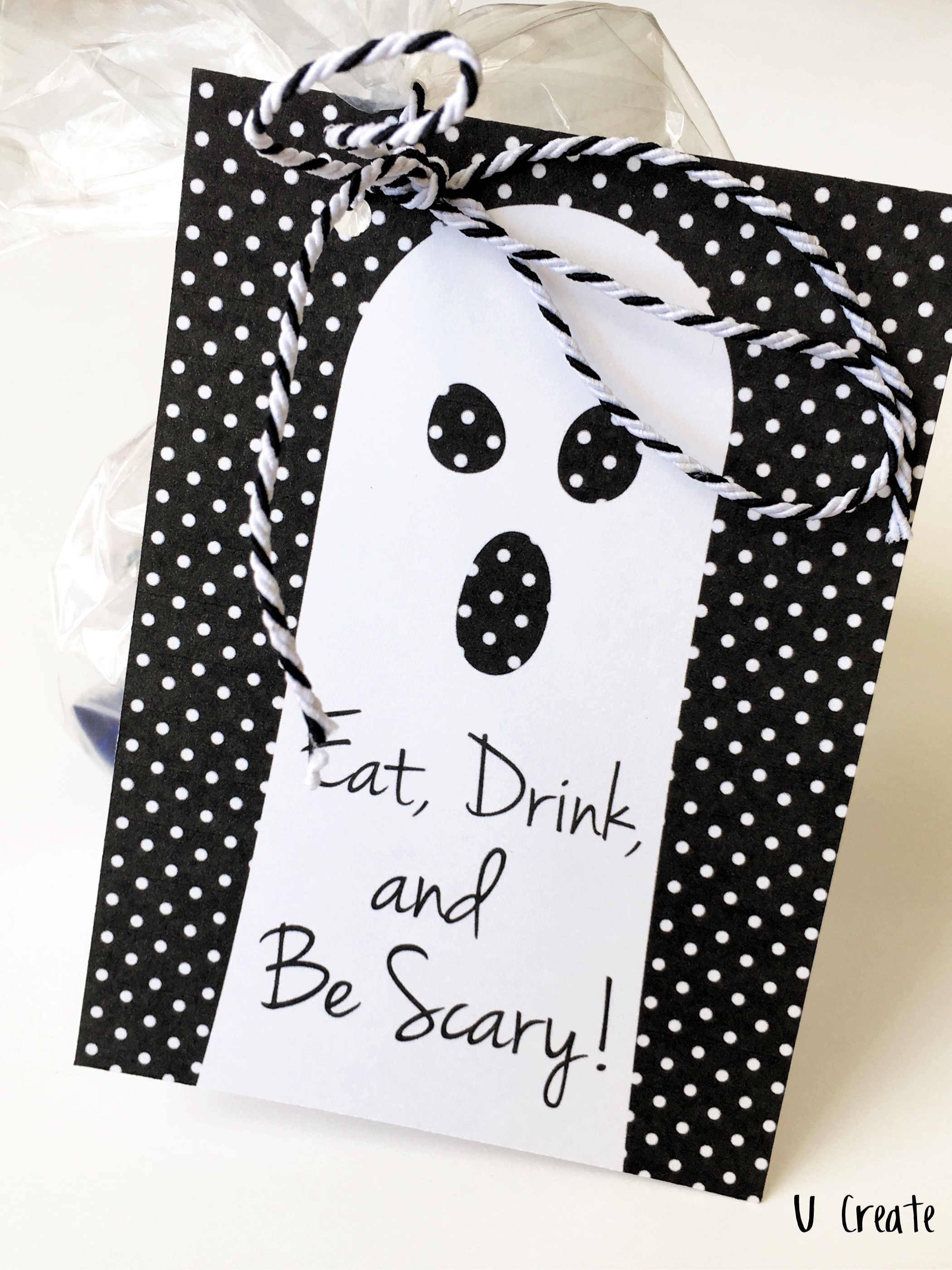 Eat, Drink, and Be Merry Halloween tags