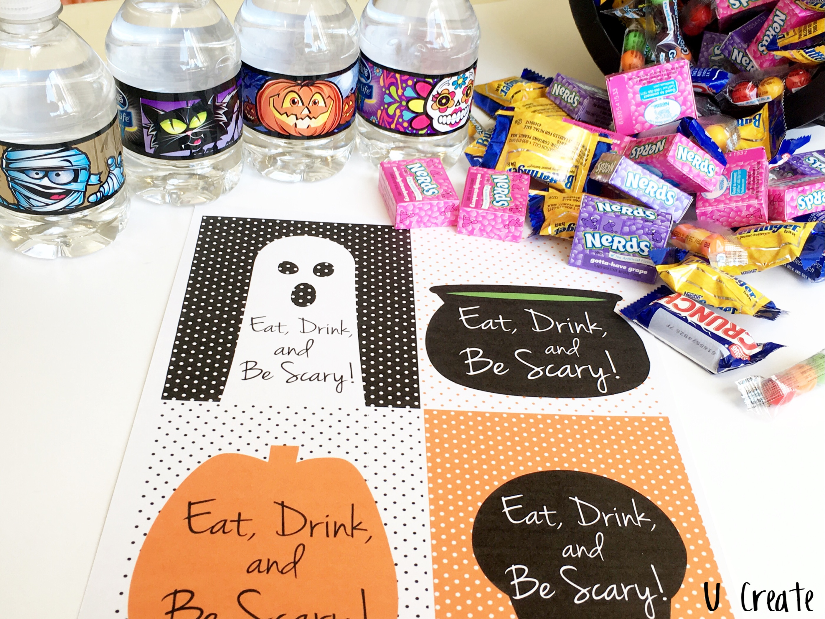 Eat, Drink, and be Scary Halloween Goodies!