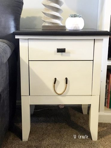 End Table Remodel by U Create