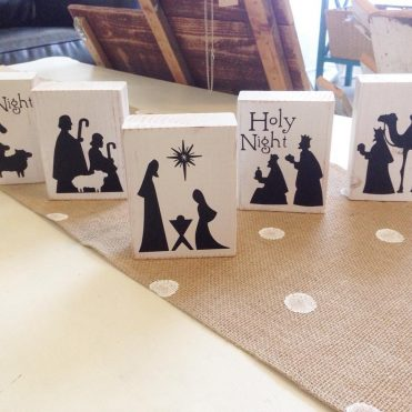 DIY Kid Friendly Nativity Set