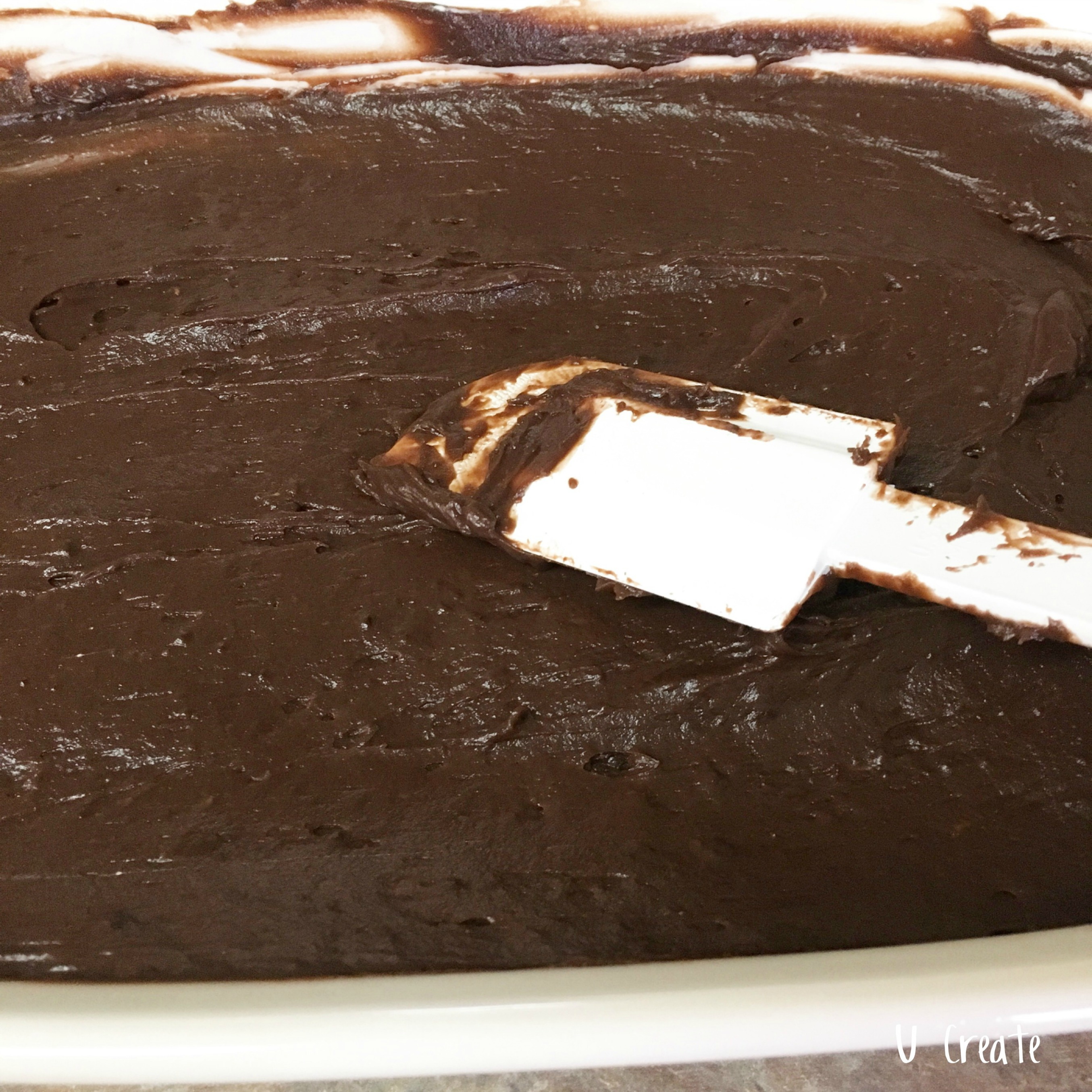 Chocolate Mud Pie - the easiest dessert!