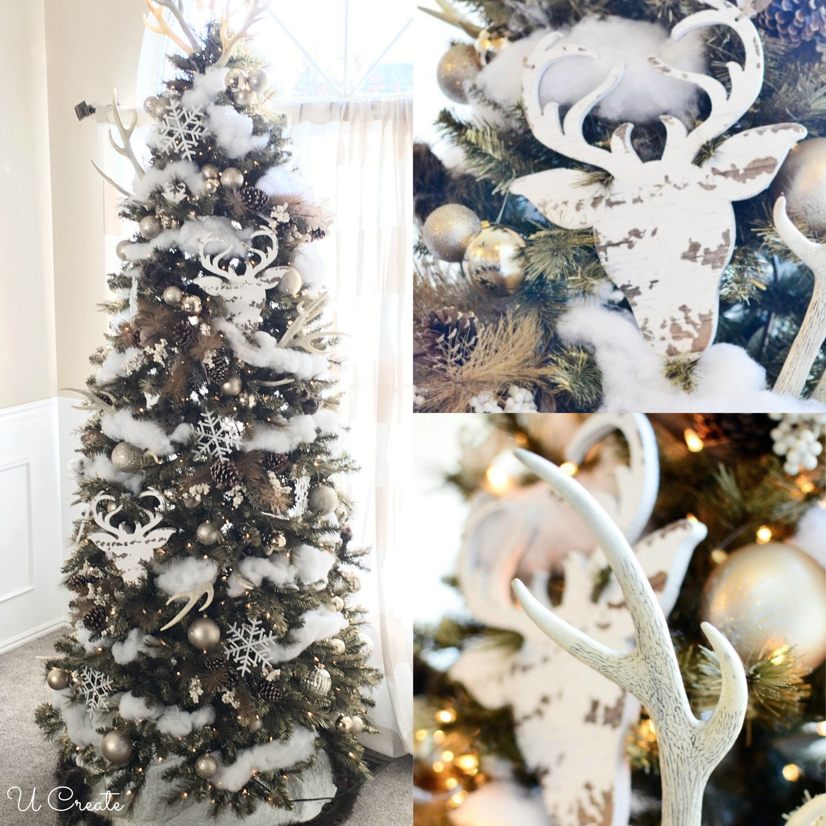 "Winter Won""deer""land Tree by U Create"