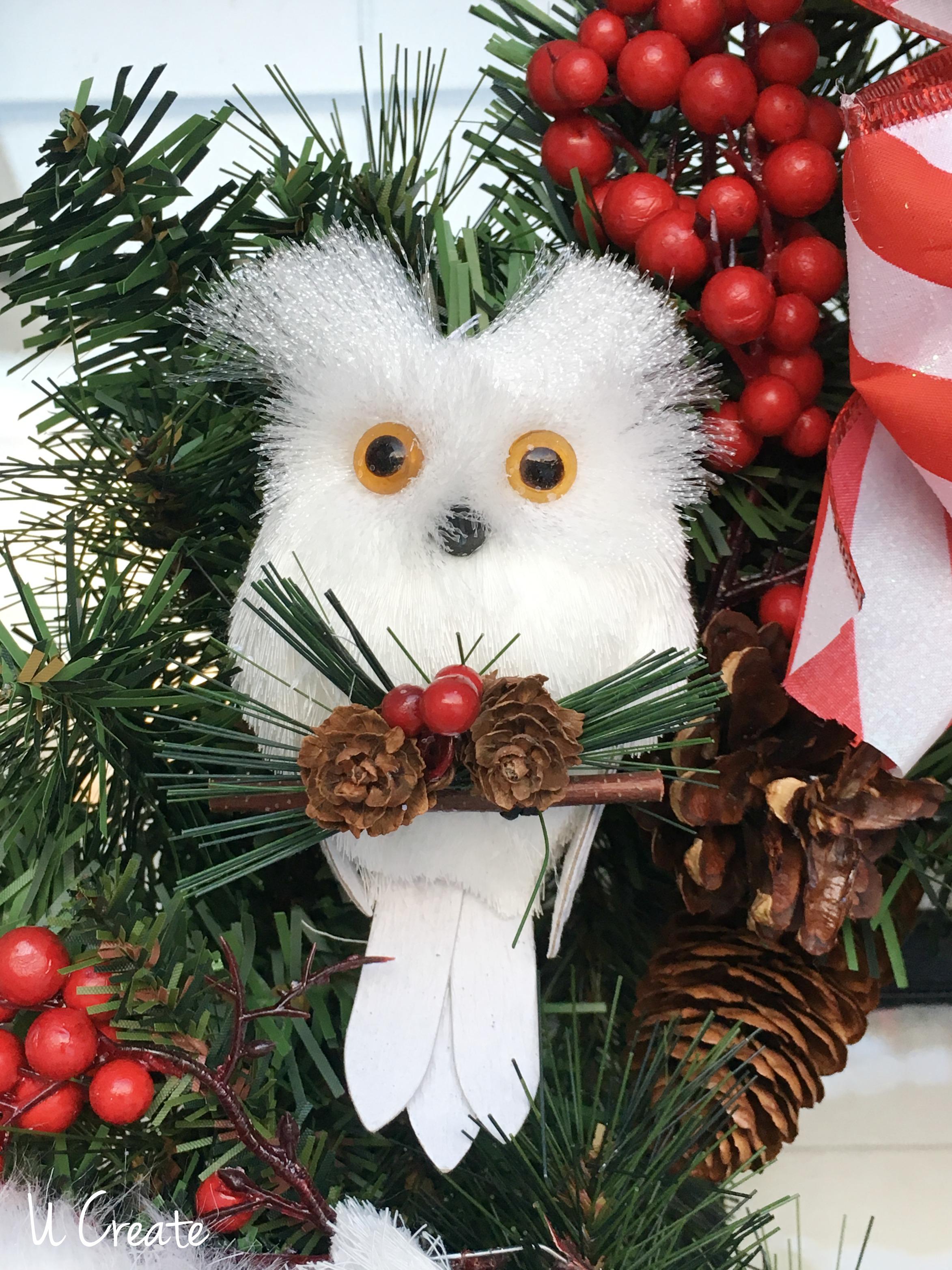 DIY Ornament Wreath by U Create