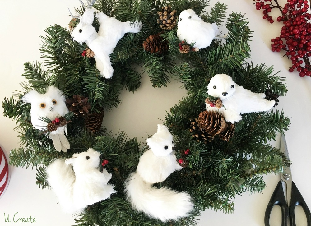 DIY Ornament Wreath by U Create