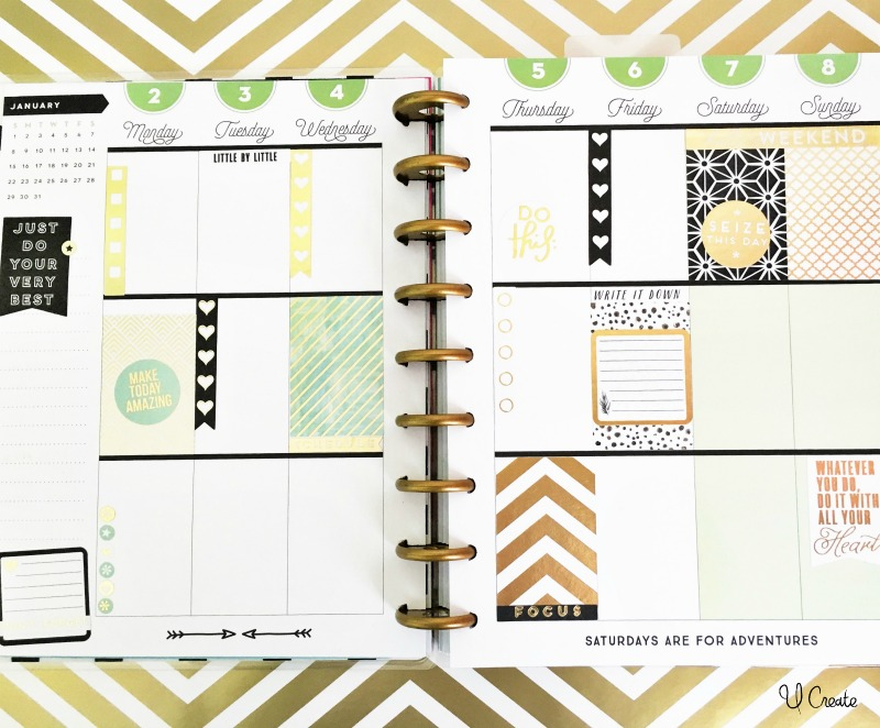 Happy Planner ideas at U Create