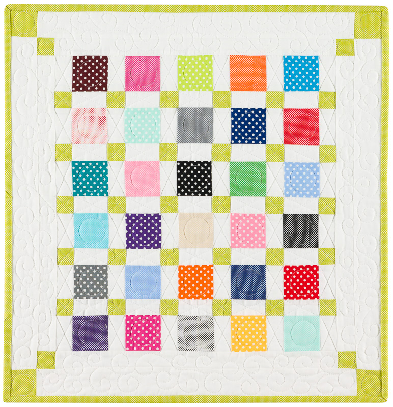 Dottie Mini Quilt Tutorial