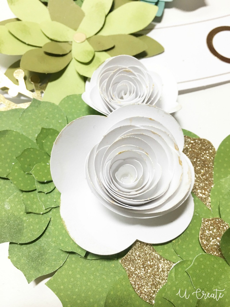 Floral Paper Wreath giveaway - 10 kits!