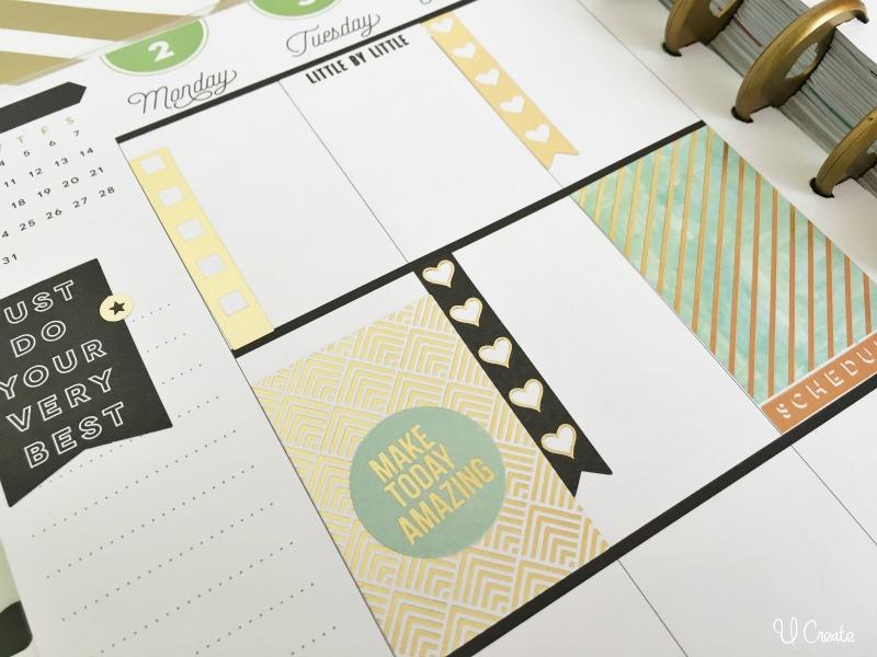 Happy Planner ideas at U Create