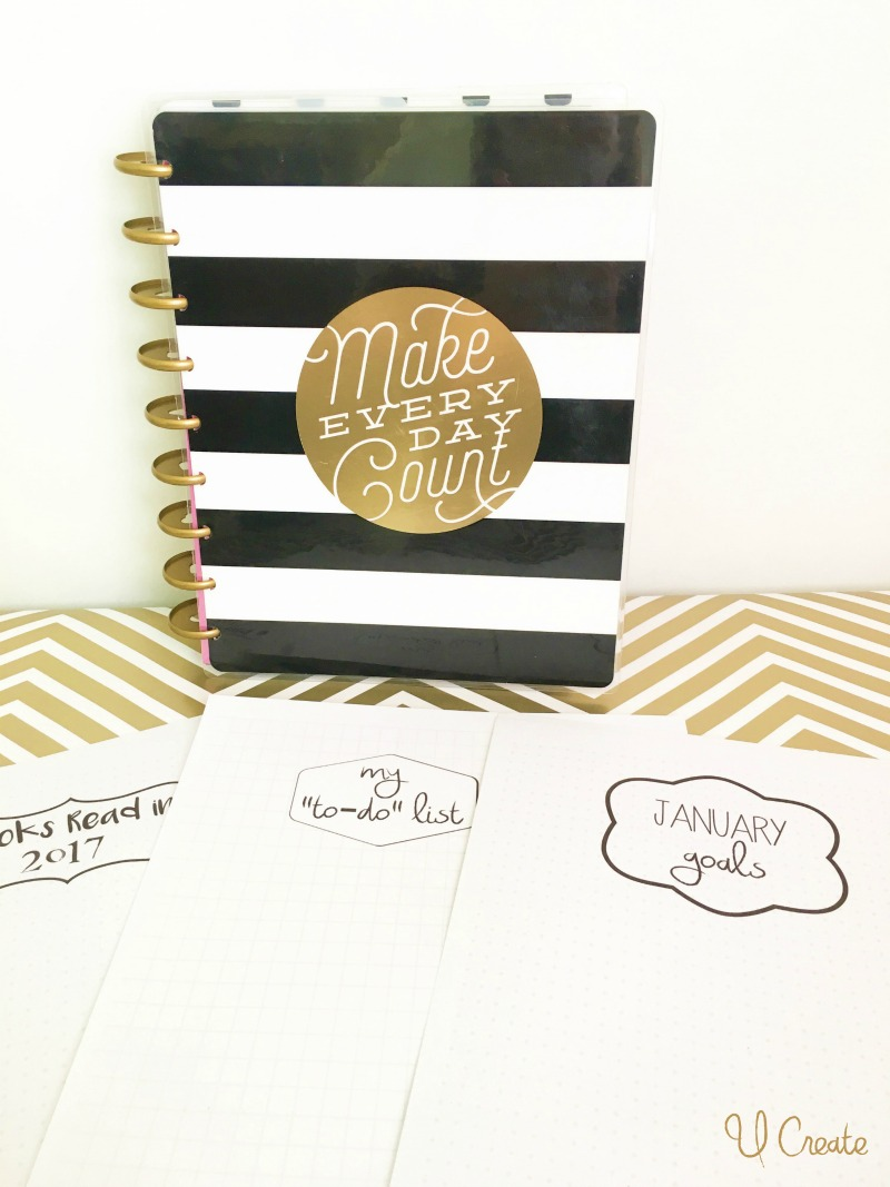 Happy Planner free printables for bullet journaling!