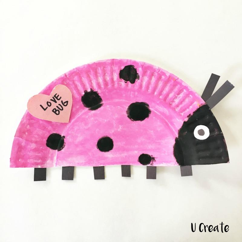 Valentine Paper Plate Crafts by U Create