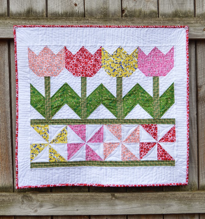 Tulip Time Quilt Tutorial