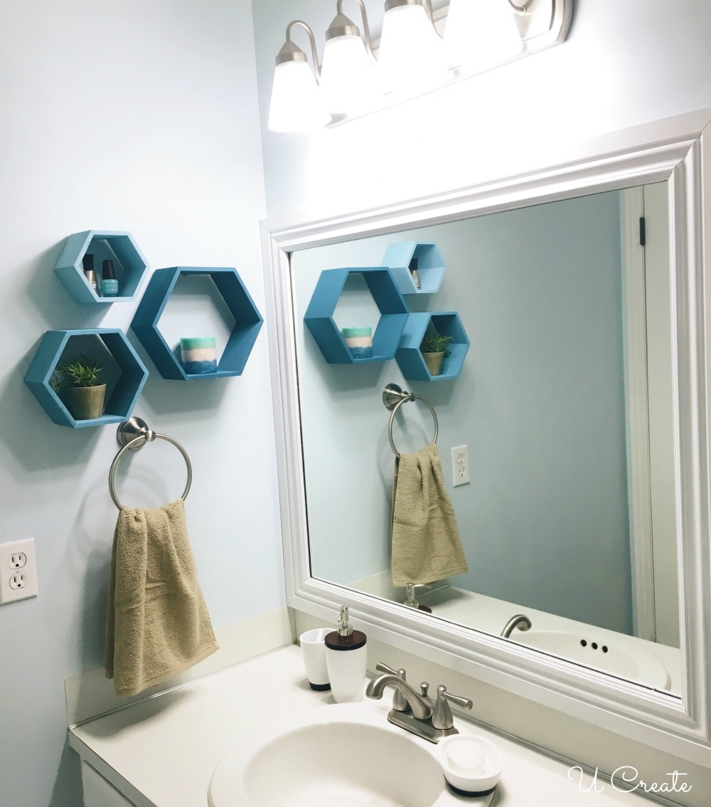 How to remodel a bathroom in a weekend by U Create