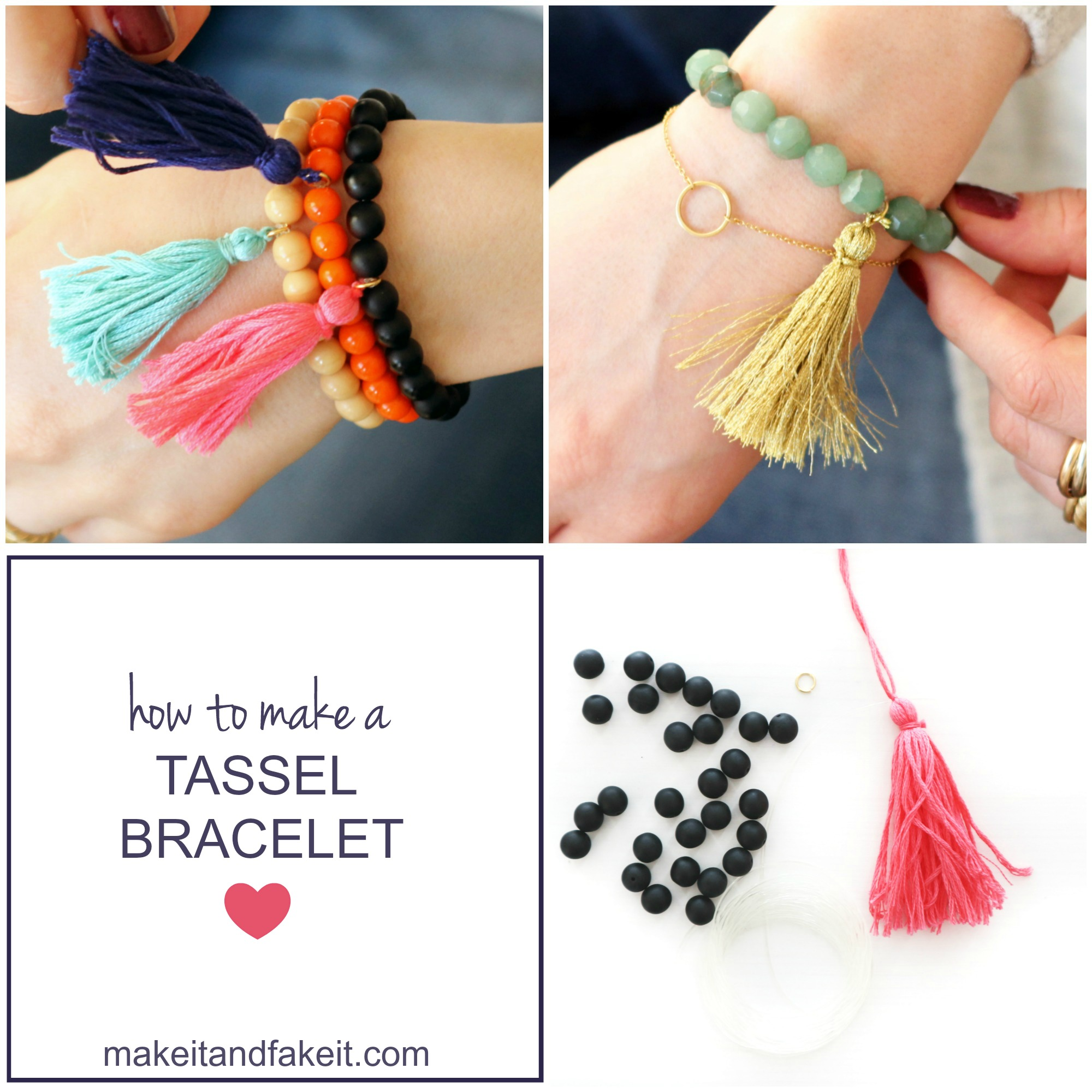 How to Make a Tassel Bracelet