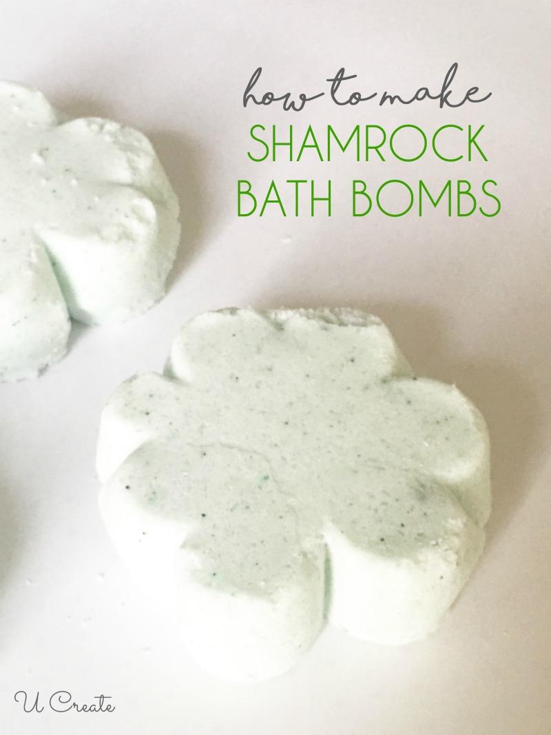 How to Make Shamrock Bath Bombs by U Create