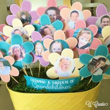 Garden of Grandchildren free printable for Mother's Day
