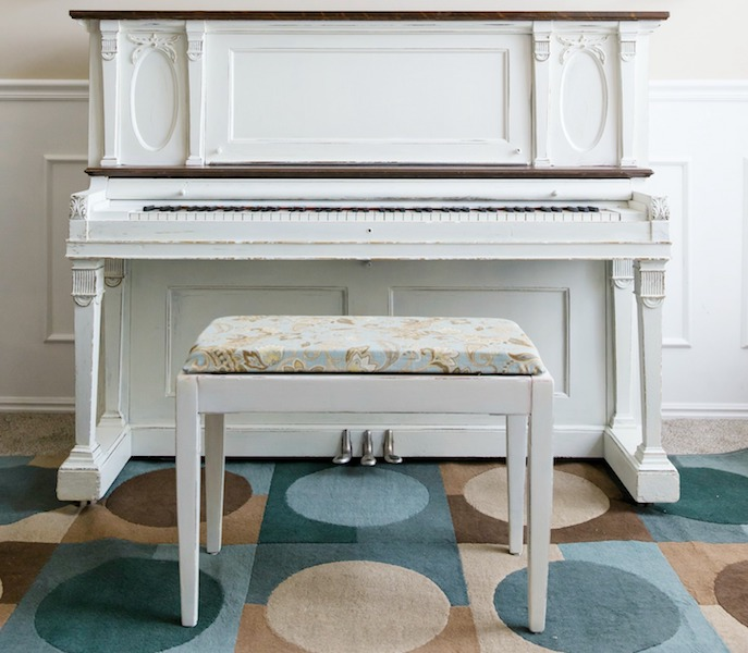 How to Reupholster a Piano Bench